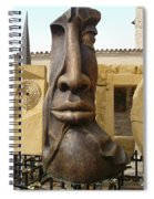 The Face Spiral Notebook