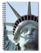 The Face Of Liberty  Spiral Notebook