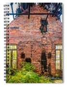 The Factory Interior Spiral Notebook