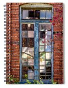 The Factory Window Spiral Notebook