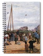The Fairgrounds At Porte De Clignancourt Paris Spiral Notebook