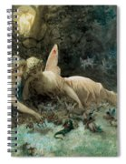 The Fairies From William Shakespeare Scene Spiral Notebook