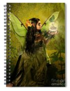 The Fairy Of Clairvoyant Spiral Notebook