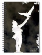 The Falconer Spiral Notebook