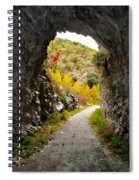The Fall Cave Spiral Notebook