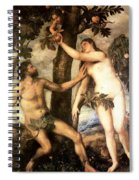The Fall Of Man Spiral Notebook