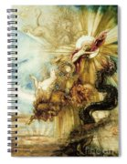The Fall Of Phaethon Spiral Notebook
