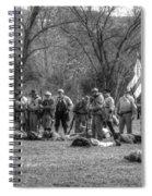The Fallen Civil War Spiral Notebook