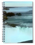 The Falls-oil Effect Image Spiral Notebook