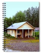 The Famous Cabin Of Fannie Quigley Spiral Notebook