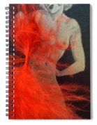 The Fan Dancer  Spiral Notebook