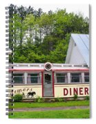 The Farmers Diner In Color Spiral Notebook