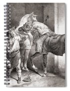 The Farrier, From Etudes De Cheveaux Spiral Notebook