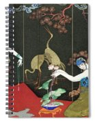 The Fashion For Lacquer Spiral Notebook