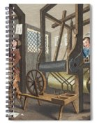 The Fellow Prentices At Their Looms Spiral Notebook