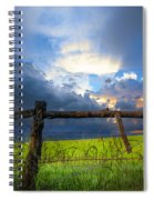 The Fence At Cades Cove Spiral Notebook