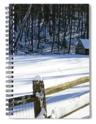 The Fence Line Spiral Notebook