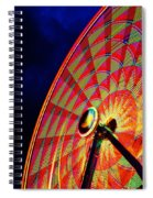 The Ferris Wheel 7/10/14 Spiral Notebook