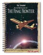 The Final Frontier Spiral Notebook
