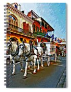 The Final Ride Painted Spiral Notebook
