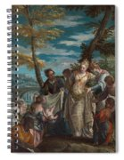 The Finding Of Moses Spiral Notebook
