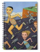 The Finish Line Spiral Notebook