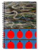 The Finishing Line Spiral Notebook