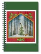 The Fir Tree Spiral Notebook