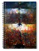 The Fire Of Forest-the Fire Of Heart Spiral Notebook
