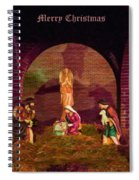 The First Christmas - Greeting Card Spiral Notebook
