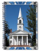 The First Church Of Evans In New York State Spiral Notebook