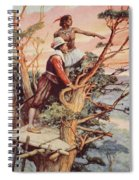 The First Englishman To See The Pacific Spiral Notebook