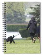 The First Family And Bo Spiral Notebook