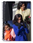 The First Family Spiral Notebook