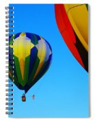 The First One Up  Spiral Notebook