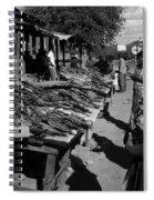 The Fish Market Spiral Notebook