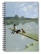The Fisherman, 1884 Spiral Notebook