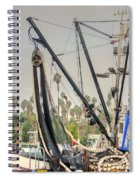The Fishing Boat Spiral Notebook
