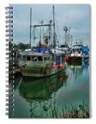 The Fishing Boat Genesta Hdrbt4240-13 Spiral Notebook