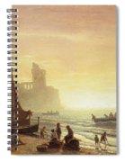 The Fishing Fleet Spiral Notebook