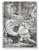 The Fishing Party Spiral Notebook