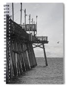 The Fishing Pier Spiral Notebook