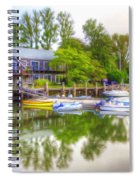 The Fishing Village Spiral Notebook