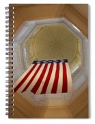 The Flag - Maryland State House Spiral Notebook