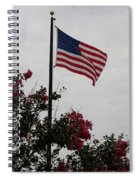 The Flag Spiral Notebook