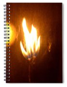 The Flame Spiral Notebook