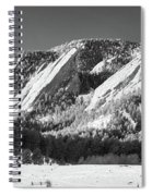 The Flatirons Spiral Notebook