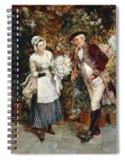The Flower Girl Spiral Notebook