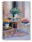 The Flower Shop Paris Spiral Notebook