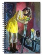 The Flowers Spiral Notebook